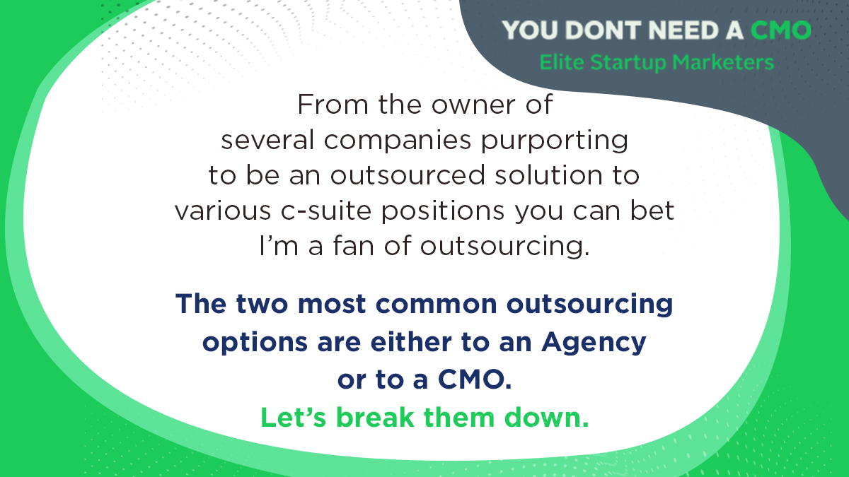 Implementation Option: Outsourcing